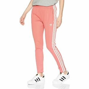 Adidas Originals Superstar Women's Track Pants Tactile Rose-White dh3179