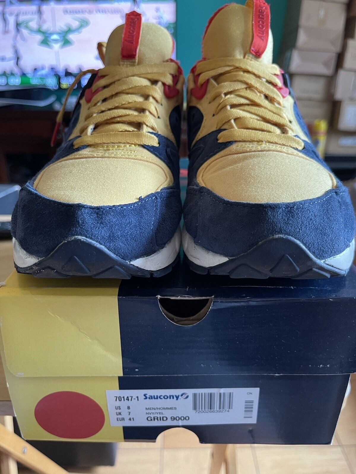 Packer Shoes Saucony Grid 9000 Just Blaze Snow Be… - image 1