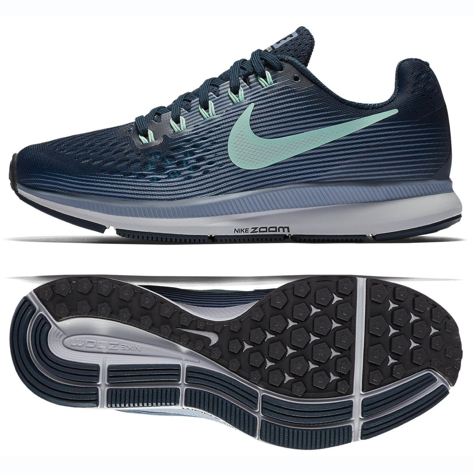 Nike WMNS Air Zoom Pegasus 34 880560-405 Navy Mint Foam Women's Running shoes