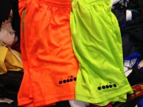 DIADORA Pantaloncini da calcio in poliestere a £ 5 tutte le dimensioni ridotte per xlmens