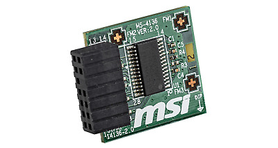 Details about  MSI TPM 2.0 Module (MS-4136) LPC Interface, 14-1 Pin, Supports MSI Intel 300 Ser