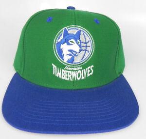 MINNESOTA-T-WOLVES-TIMBERWOLVES-NBA-VINTAGE-SNAPBACK-RETRO-2-TONE-CAP-HAT-NEW