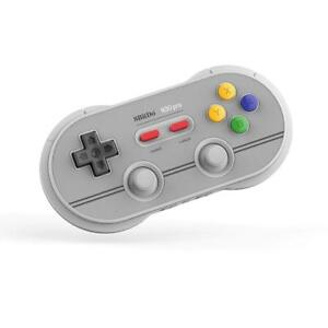 8Bitdo N30 Pro2 NES Edition manette Grise