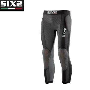 Pantaloni-Leggings-con-o-senza-protezioni-Moto-SIXS-BLACK-CARBON-PRO-PNX