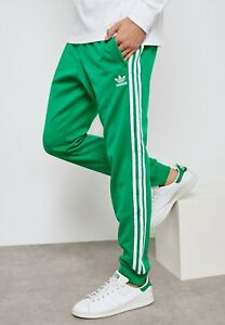 94313af07155 XL adidas Originals MEN S Adicolor SUPERSTAR TRACK PANTS GREEN LAST1 ...
