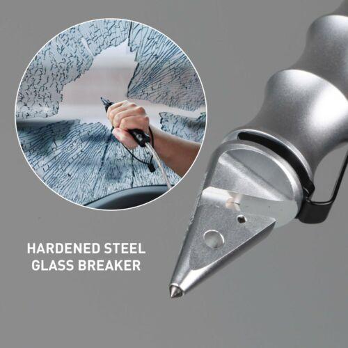 Stinger Elite Whip Car Emergency Escape Tool w// Seat Belt Cutter Window Breaker