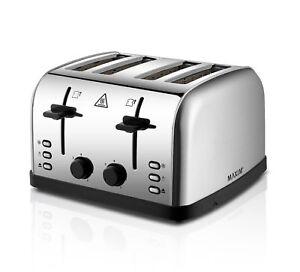 Maxim-KPT4S-4-Slice-Wide-Slot-Toaster-Silver
