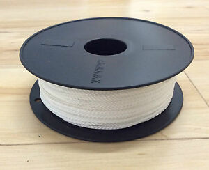 Professional Picture Framing 2mm Plaited Polyester VB White Cord 100m Roll
