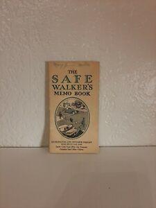 Met-Metropolitan-Life-Insurance-Company-The-Safe-Walker-039-s-Memo-Book-ci-1930-039-s