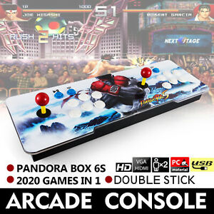 Ps3 Games 2020.Details About Pandora Box 6s 2020 In 1 Retro Video Games Arcade Console Hdmi Tv Pc Ps3 2 Stick