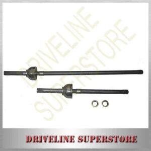 TOYOTA-LANDCRUISER-80-series-1990-03-1994-TWO-FRONT-CV-JOINT-DRIVE-SHAFT-AXLES