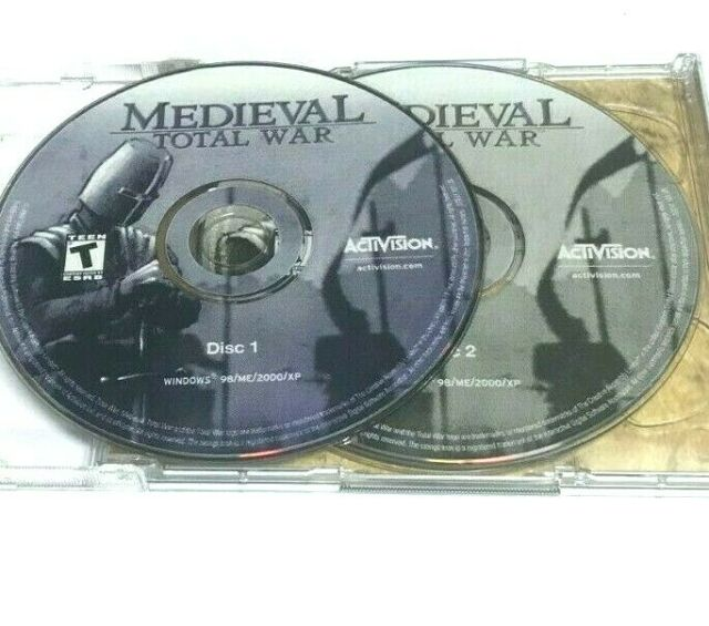 Medieval: Total War (PC, 2002) Jewel Case