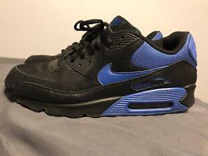 Detalles acerca de Nike Max 90 Real Azul Negro Air 325018 041 Talla 13 mostrar título original