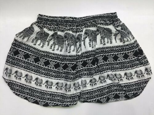 NEW WOMEN ELEPHANT VISCOSE CASUAL SHORT