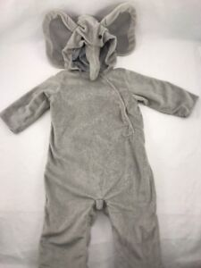 Image is loading Pottery-Barn-Kids-Cute-Baby-Elephant-Costume-6- & Pottery Barn Kids Cute Baby Elephant Costume 6 -12 months Halloween ...