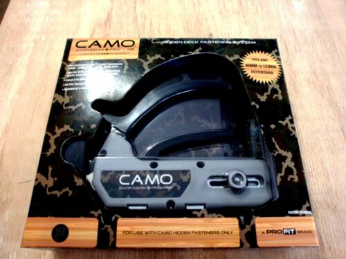 CAMO Marksman Pro NB Hidden Deck Fastening Tool 80 123 Boards Concealed Fix
