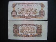 SOUTH VIETNAM  1 Dong 1963  (PR4)  AUNC