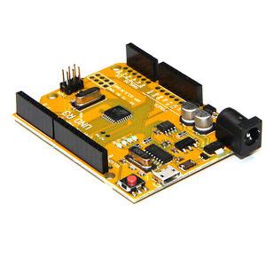 UNO-R3-ATMEGA328P-CH340-Mini-USB-tablero-placa-Compatible-Arduino