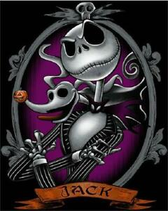 Details About 5d Diamond Painting Jack From Nightmare Before Christmas Kit