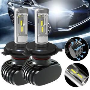 H4-HB2-Hi-Lo-LED-Ampoule-Voiture-Feux-Phare-Lampe-110W-Xenon-Blanc-anti-erreur