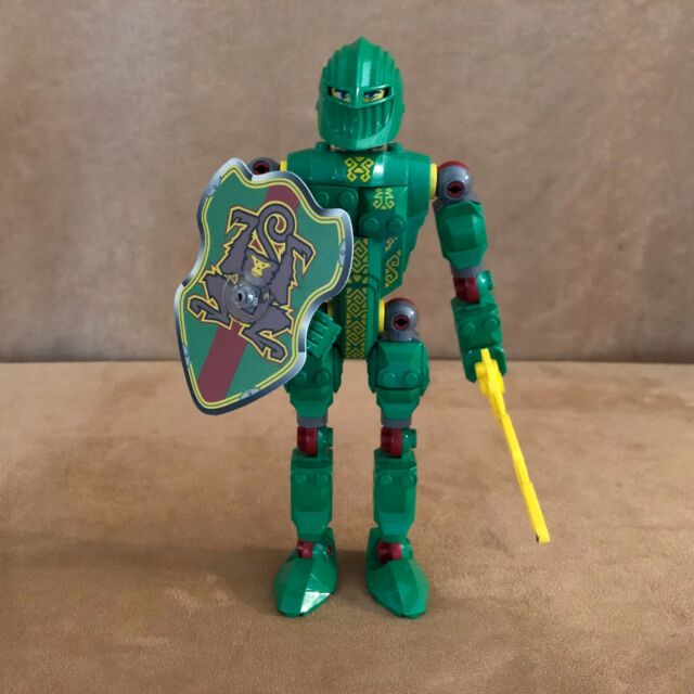 Large Figure – Complete Knights Kingdom 2 Set 8784 RASCUS LEGO Castle