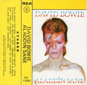David-Bowie-034-Aladdin-Sane-034-Rare-Espagnol-Cassette-Jagger-Richards-As