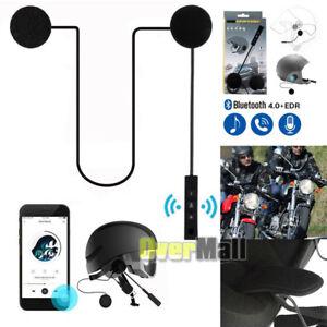 061e82bf1ad La foto se está cargando Auriculares-Bluetooth -Casco-de-Motocicleta-Moto-Manos-Libres-
