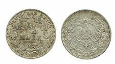 1/2 Mark 1916 G - Silber - Original Münze