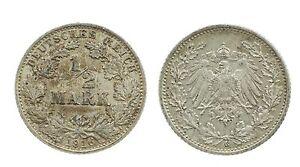 1/2 Mark 1916 G-argent-original Pièce-afficher Le Titre D'origine Ry5uyoqu-08001225-283640097