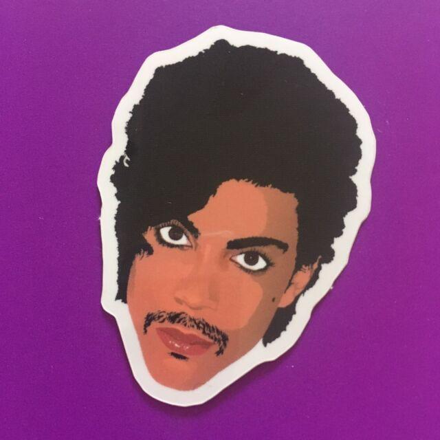 Prince Art Controversy Fan Tribute Commemorative Gloss Vinyl Sticker 5x4cm