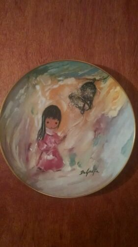 """Bell of Hope"" a Limited Edition De Grazia collector plate"