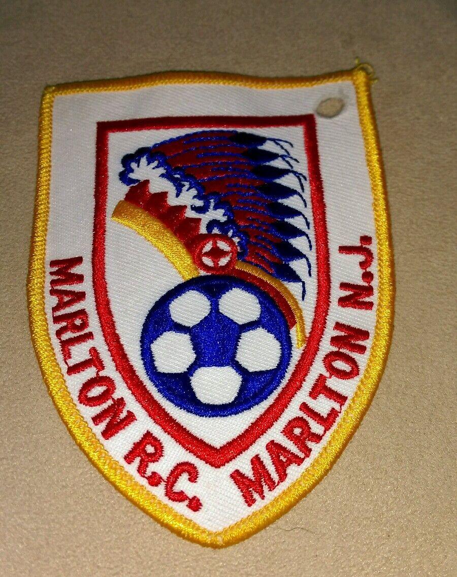 Vintage Marlton Recreation Central Central Central Jersey Rc Nj Hierro Coser Patch Fútbol Raro 546bc6