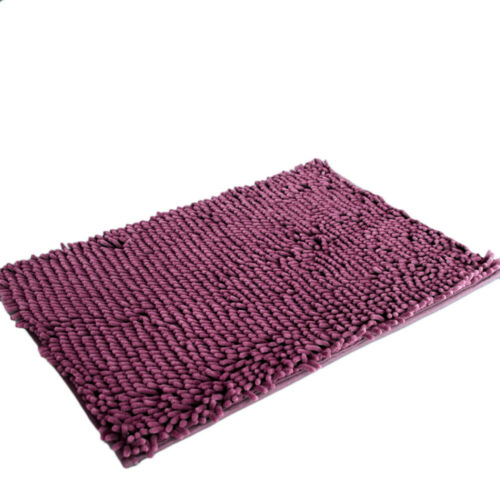 3pcs 2016 shaggy non slip absorbent bath mat home bathroom shower rugs carpet bu - Magenta Bathroom 2016
