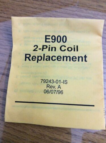 240V 2-Pin // Slautterback 79243-04 Nordson 1029801 E900 Coil