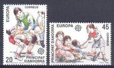 ANDORRA (SPAIN), EUROPA CEPT 1989, CHILDREN'S GAMES, MNH