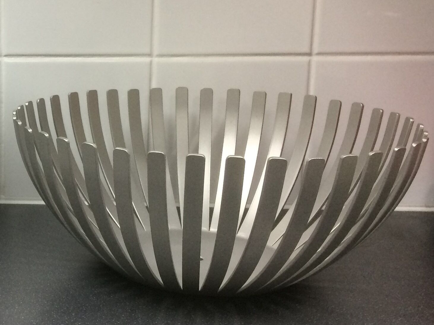 Fruit bowl Large handmade in Stainless Steel ideal wedding gift