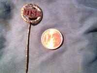 Original DDR Anstecker Pin * DTSB Ehrennadel in Silber * Abzeichen Ostalgie VEB
