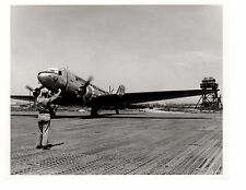 Douglas Skytrain R4D Korea Navy Fighter Aircraft 8x10 1953