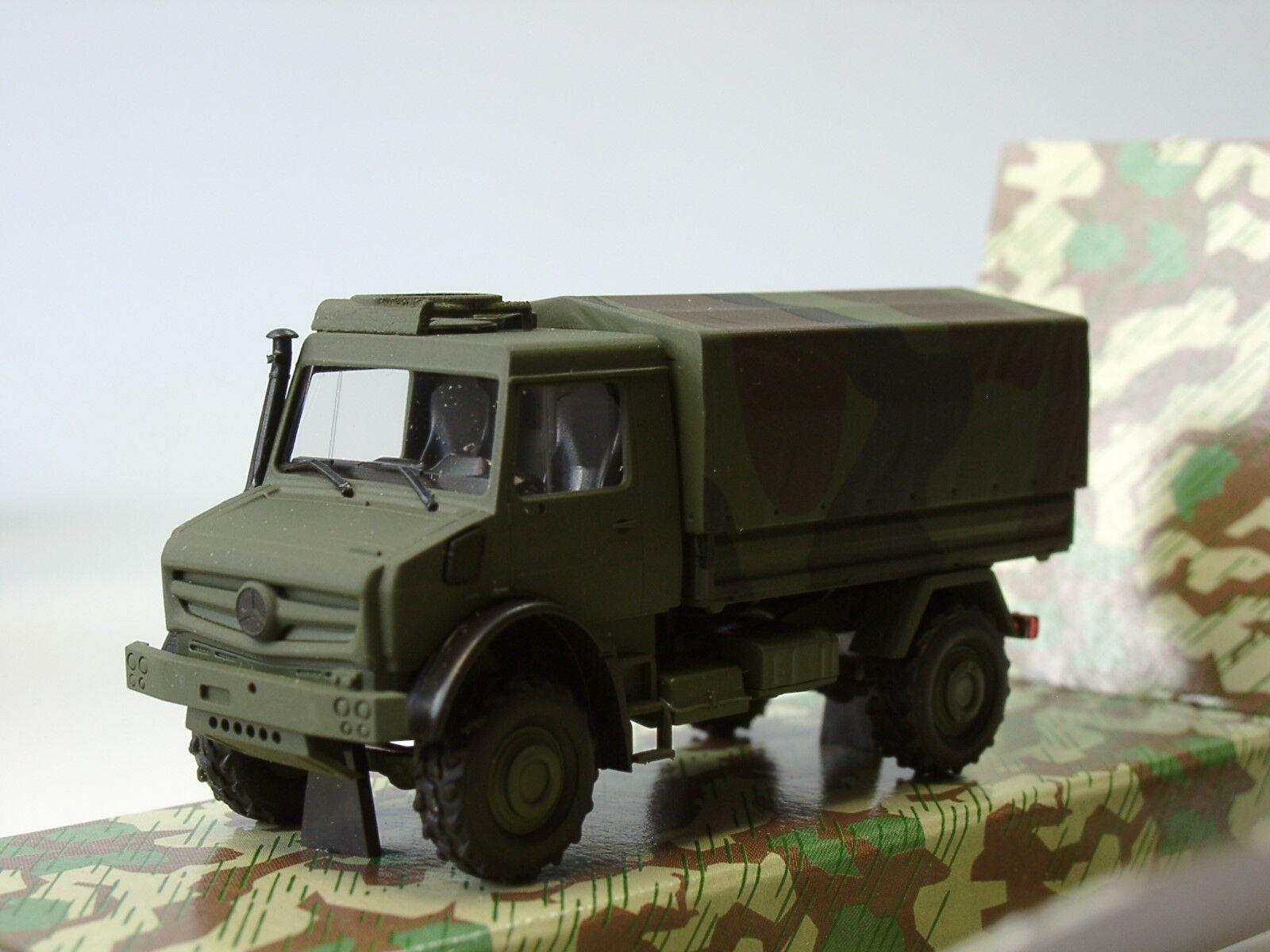 Busch Mercedes Unimog U 5023 armée, tarnCouleurn - 51021 - 1 87