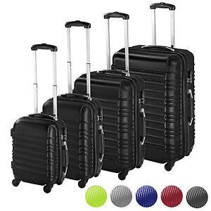 Set-de-4-valises-de-voyage-coque-ABS-leger-rigide-bagages-valise-trolley