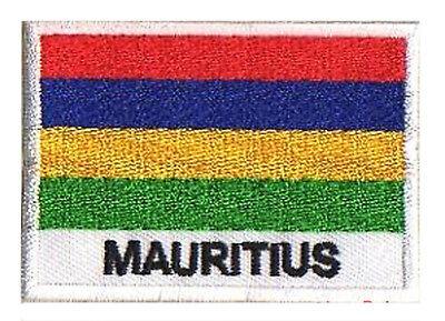 Patch écusson patche drapeau MARTINIQUE Caraibes 70 x 45 mm à coudre