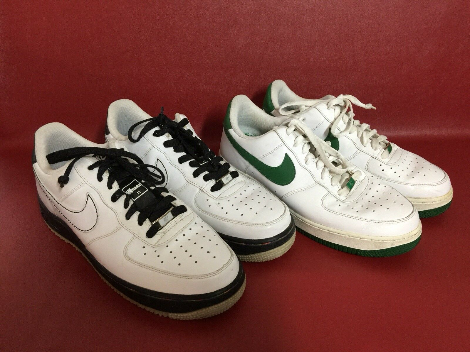 2 Pair Nike Air Force '06 XXV AF1-'82 Mens Mens Mens 9.5 Sneakers 315092-131 & 315122-112 b85d01