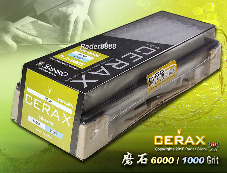 Japanese New Cerax Ceramic stone  6000 1000 Grit Dual Combination Sharpen Stone