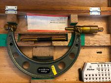 Mitutoyo 126 130 Screw Thread Micrometre Range 125 Mm 150 Mm