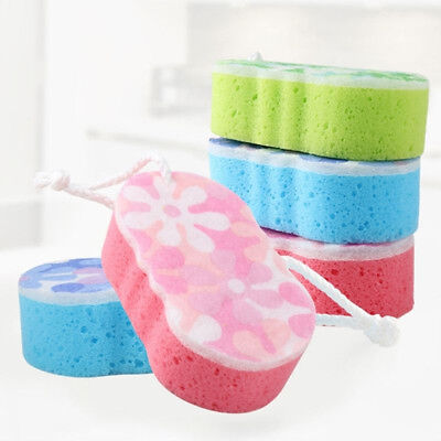 Sponge Massage Multi Bath Shower Exfoliating Body Cleaning