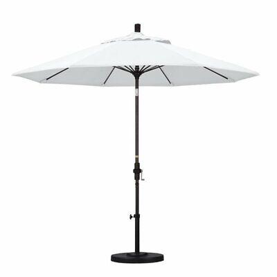 California Umbrella 9' Patio Umbrella in White