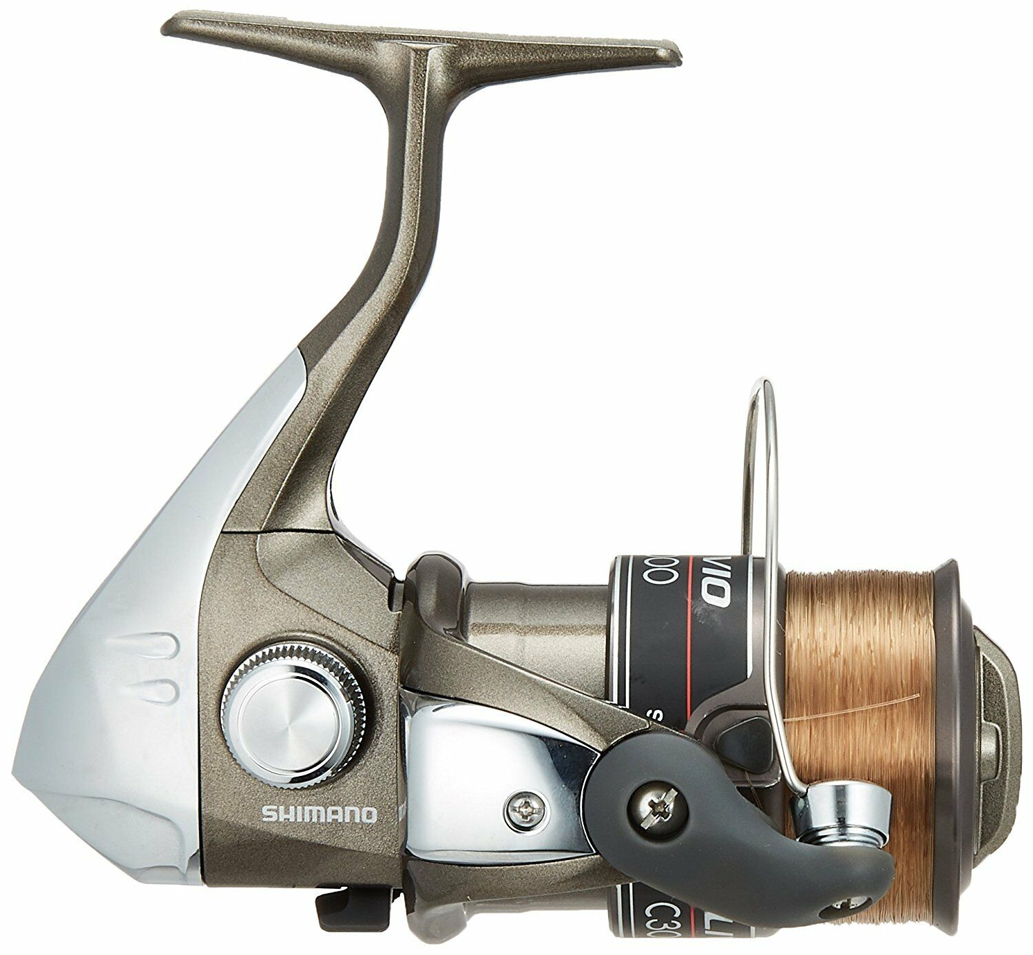 SHIMANO REEL ALIBIO C3000 NO. NO. NO. 3 NO. 150 M WITH THREAD BRAND NEW F/S 389917