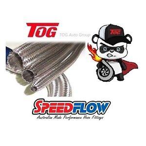 "Speedflow 111 Series Stainless Steel Braided COVER 40-45mm (1.57""-1.77"") 111-045"
