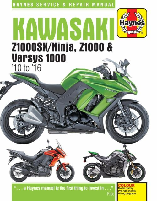 haynes 6377 motorbike manual kawasaki z1000sx ninja z1000 versys rh ebay com motorcycle manual minnesota motorbike manuals