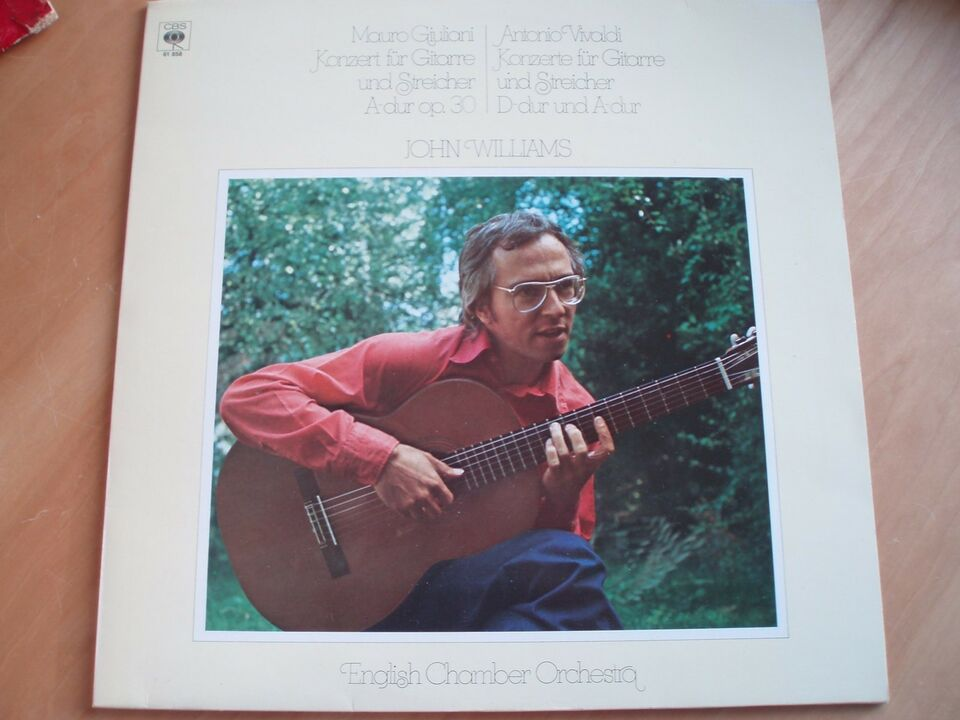 LP, John Williams, English Chamber Orchestra